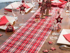 """Tischläufer """"Winterliche Weihnacht"""" 3 m"""