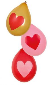 "Luftballons ""Love You"" 6er Pack"