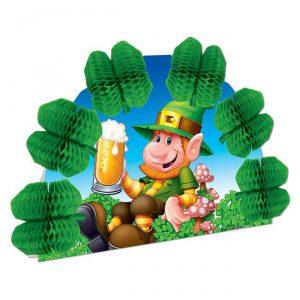 """Tischaufsteller """"St. Patrick's Day Kobold"""" 25 cm"""
