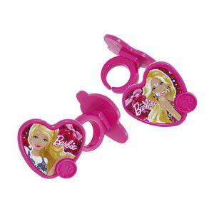 """Muffindeko """"Barbie Ringe"""" 12er Pack"""