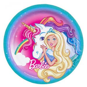 "Pappteller ""Barbie Dreamtopia"" 8er Pack"