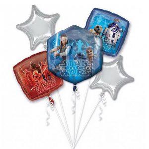 """Folien-Ballon Set """"Star Wars - The Last Jedi"""" 5-tlg."""