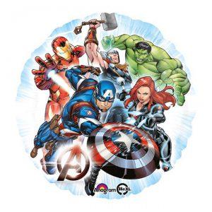"""Runder Folienballon """"Avengers"""" 43 cm"""