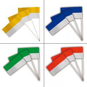 Papier-Fahnen 50er Pack