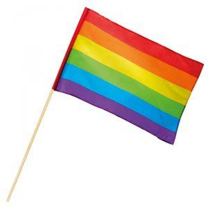 Fahne-Regenbogenfarben