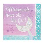 "Servietten ""Mermaids have fun"" 16er Pack"