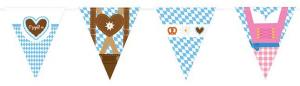"Wimpel-Girlande ""Oktoberfest-Gaudi"""