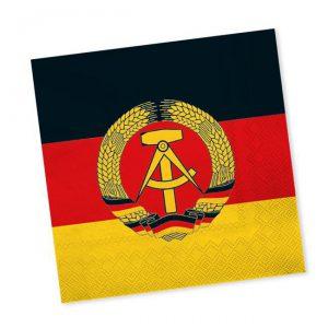 """Servietten """"DDR"""" 20er Pack"""