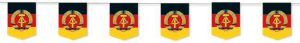 """Wimpel-Girlande """"DDR"""" 3,5 m"""