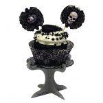"""Mini Cupcake Ständer """"Schreckens-Nacht"""" 4er Pack"""