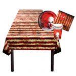 Partyset Horror-Clown 25-tlg.