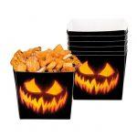 """Snack-Schalen """"Creepy Pumpkin"""" 6er Pack"""