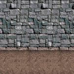 Wanddeko Steinwand 1,2 x 9,1 m