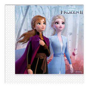 Servietten Die Eiskönigin - Frozen II Waldgeflüster 20er Pack