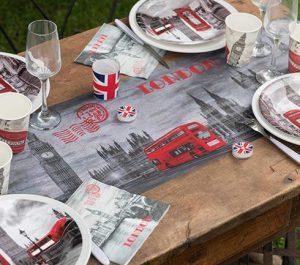 """Tischläufer """"Weltstadt London"""" 5 m"""
