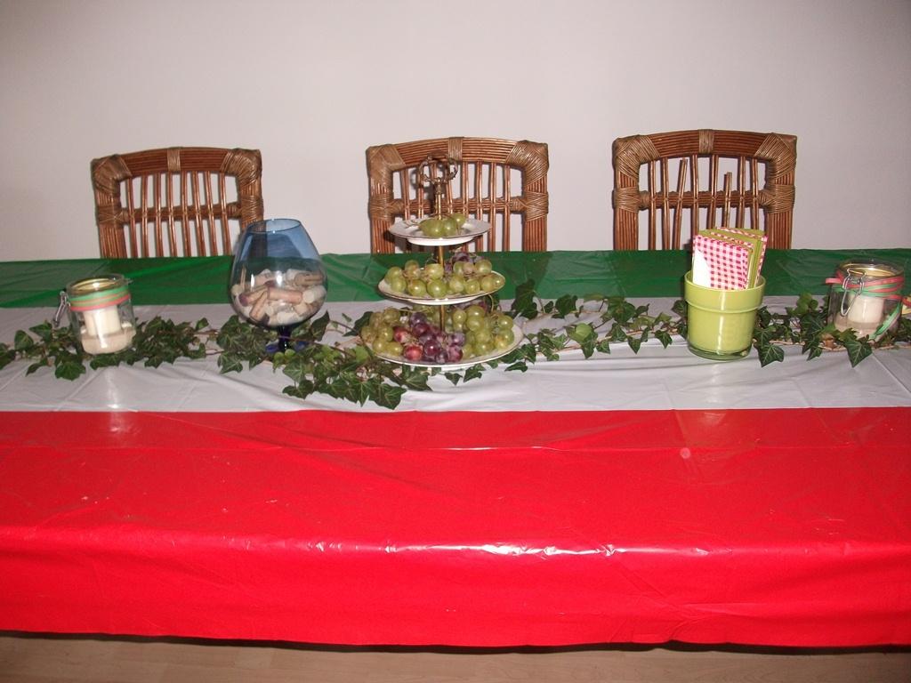 italien oder mexiko deko zur party partyfotos unserer. Black Bedroom Furniture Sets. Home Design Ideas