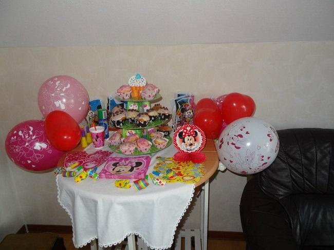 Niedliche Minnie Maus Party › Partyfotos unserer Kunden