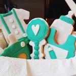 Babyparty Kekse für Mädchen und Jungen